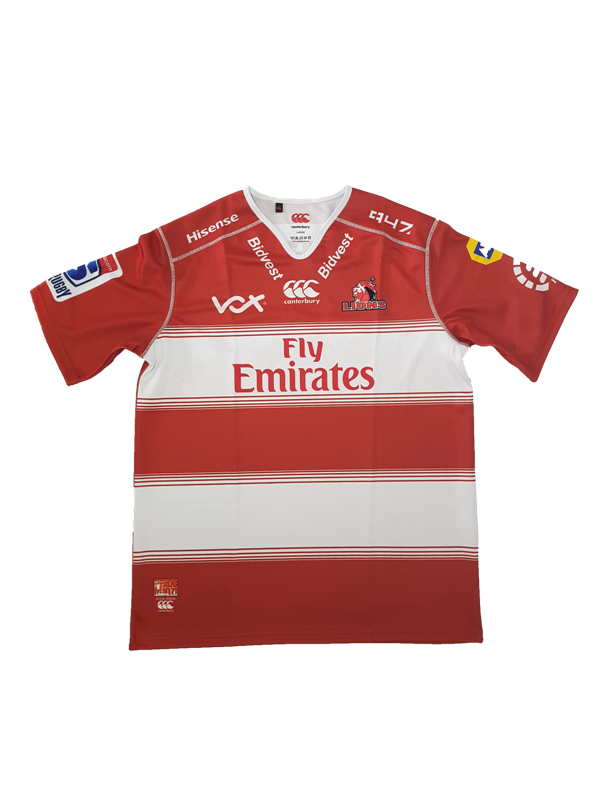 02283f7e Jersey Mens Lions Super Rugby 2018 Home